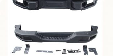 sostituire paraurti anteriore jeep