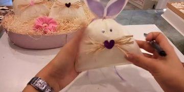 come fare un coniglio di pasqua