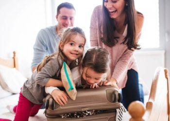 fare la valigia dei bambini