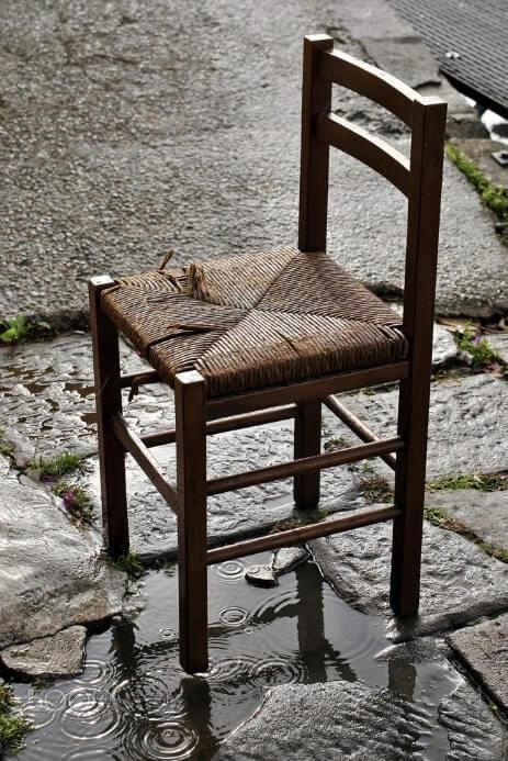 metodi intrecciare sedia paglia