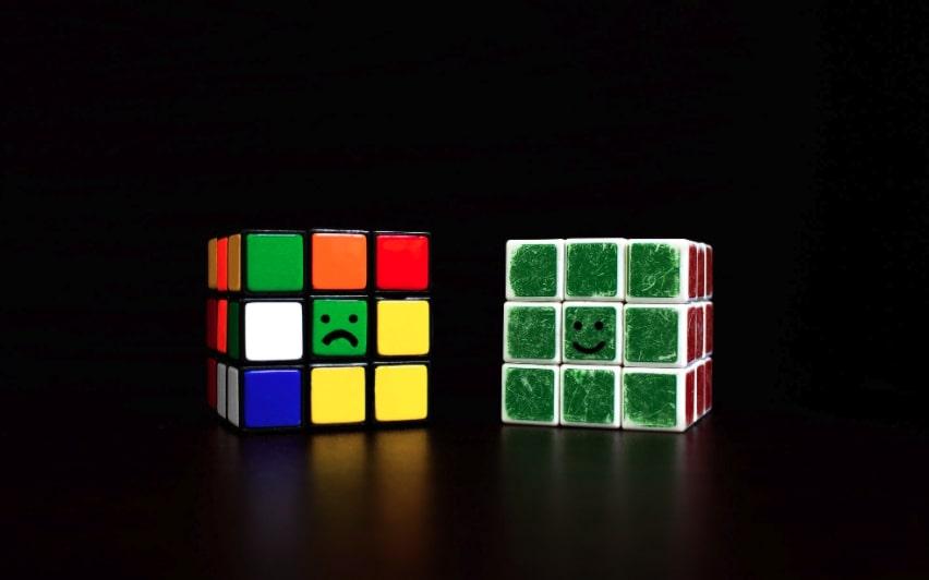 dettagli cubo rubik