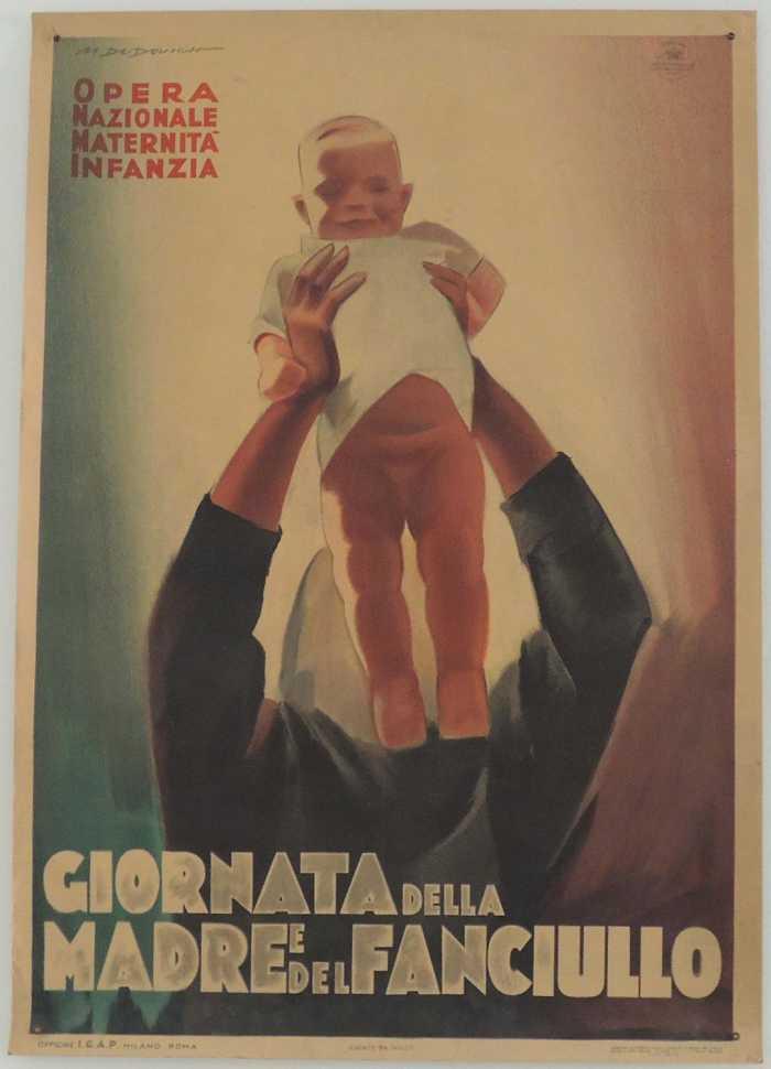 manifesto fascista famiglia