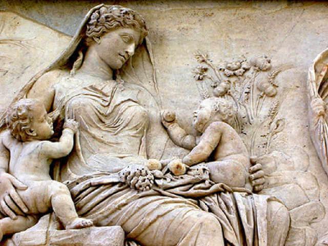 donna nell'antichita