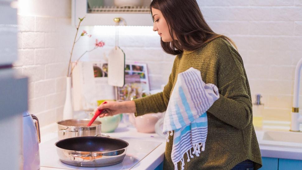 come pulire i canovacci da cucina