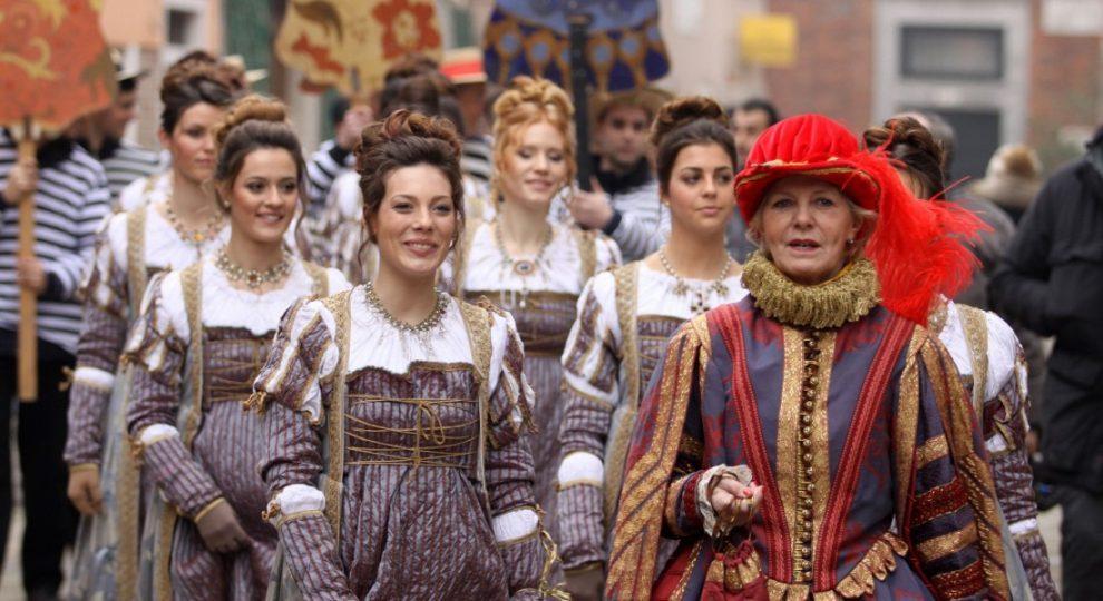 Carnevale di Venezia Corteo Marie data