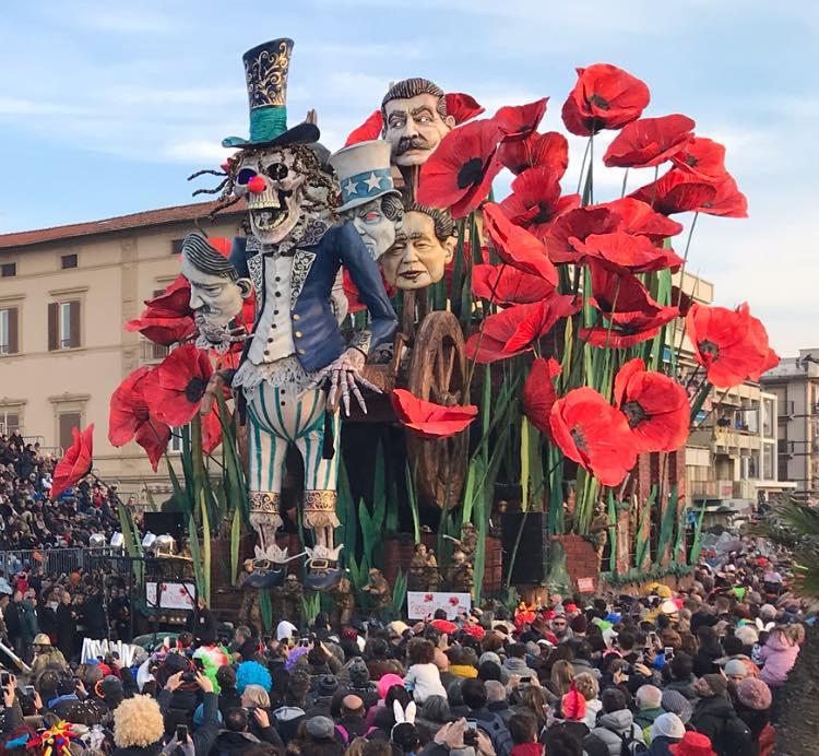 Carnevale di Viareggio indicazioni