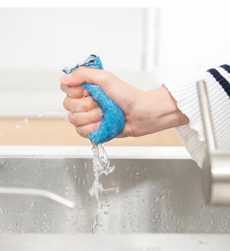 come pulire gli asciugapiatti della cucina