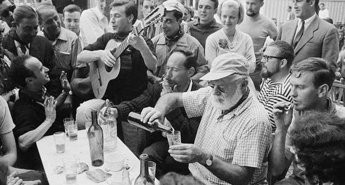 Hemingway beve mojito