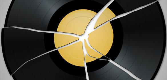 Come riparare un disco rotto
