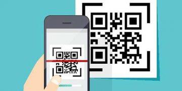 usare lo smartphone con un codice Qr