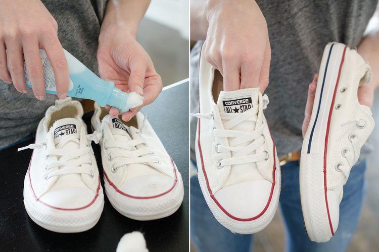 come pulire suola scarpe ginnastica