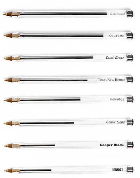 vari tipi di inchiostro