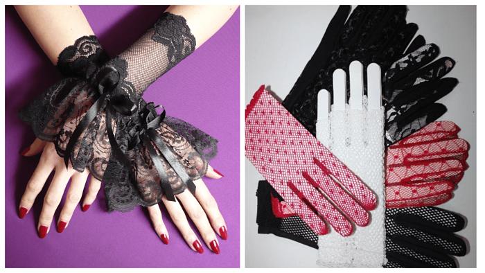 tipi di guanti da donna