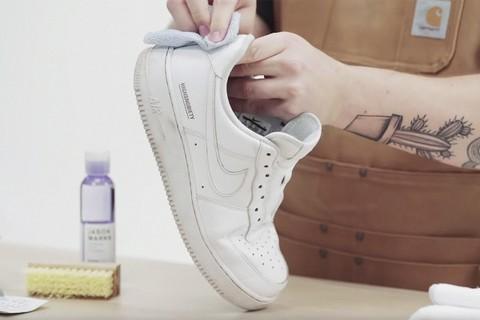 pulizia scarpe sgrassatore