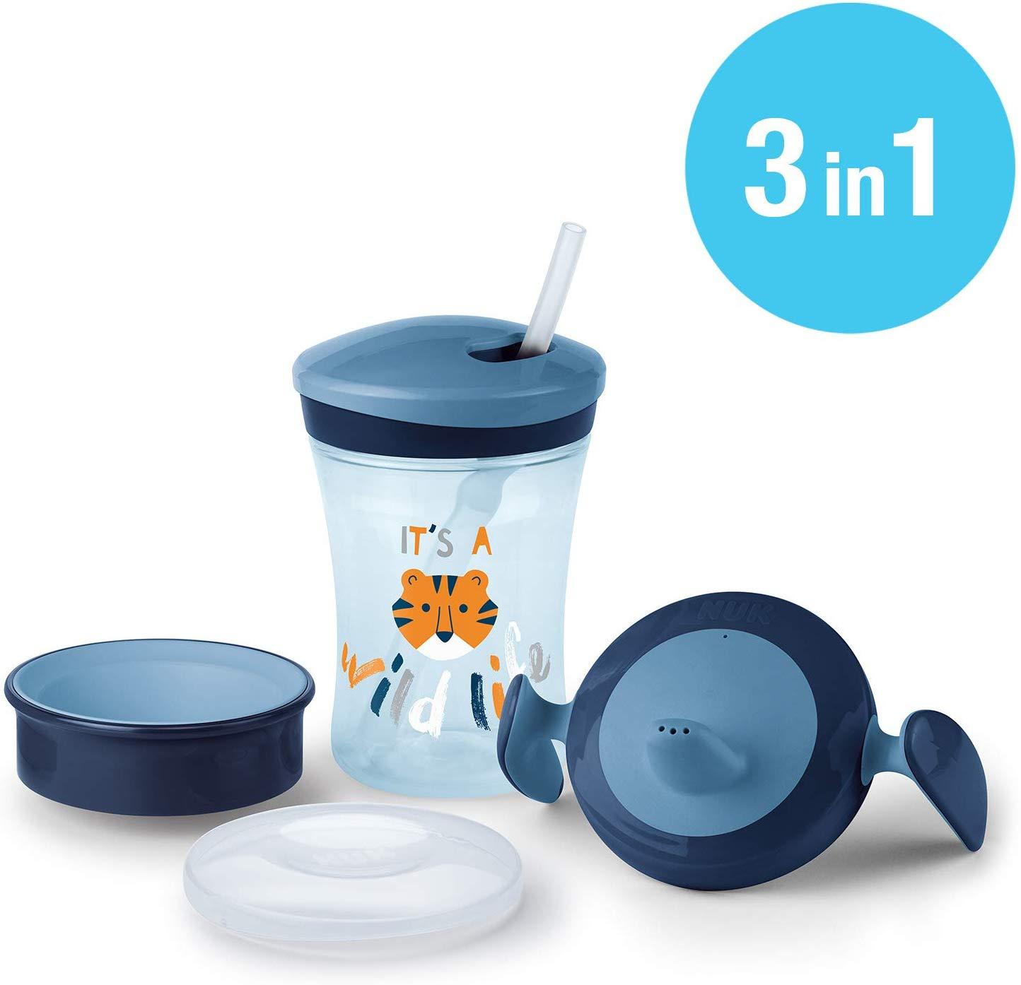 NUK Set per imparare a bere con Trainer Cup (6+ M), Magic Cup