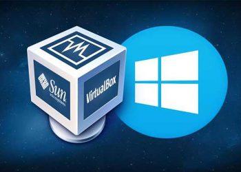 loghi virtual box e windows