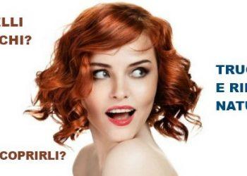 Come si coprono i capelli bianchi