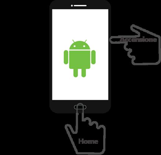 home accensione smartphone