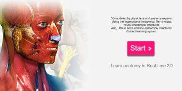 studiare su Anatomy Learning