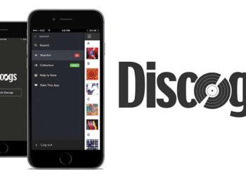 Discogs smartphone