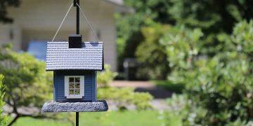 modellino casetta in giardino