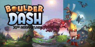 boulder dash: 30th anniversary app