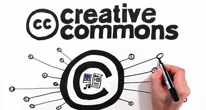 uomo disegna creative commons