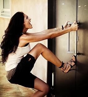 aprire la serratura bloccata
