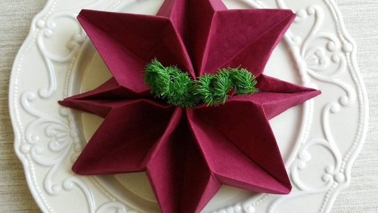 Stelle Di Natale Da Costruire come creare stelle di natale con la carta crespa