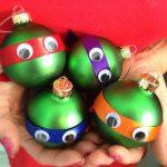 palline di Natale creazione