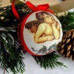 idee personalizzare palline Natale