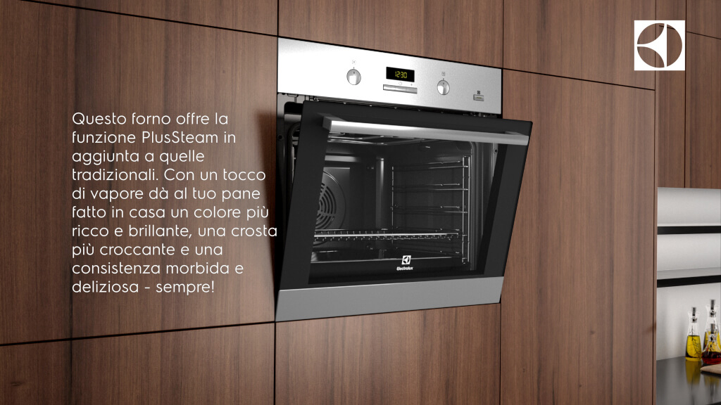 forno Electrolux Plus Steam 2