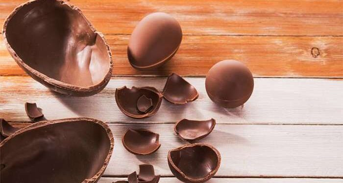 uova di Pasqua offerta