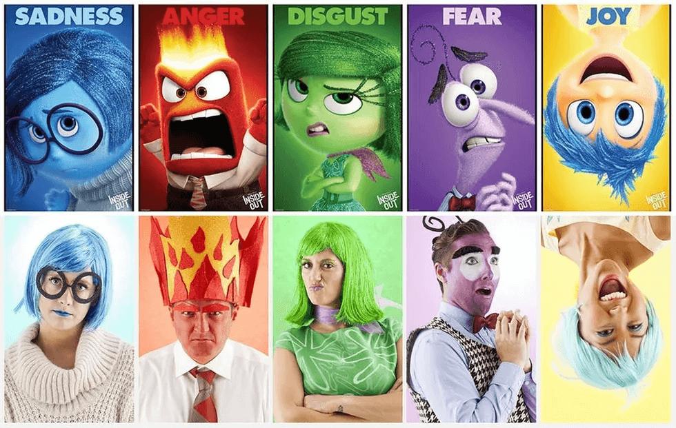 Personaggi Carnevale Inside Out