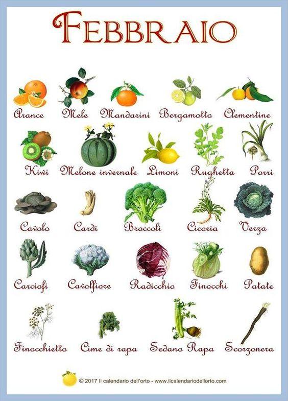 Verdure-frutta-Febbraio