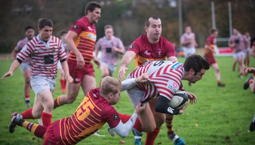 giocatore rugby verso meta
