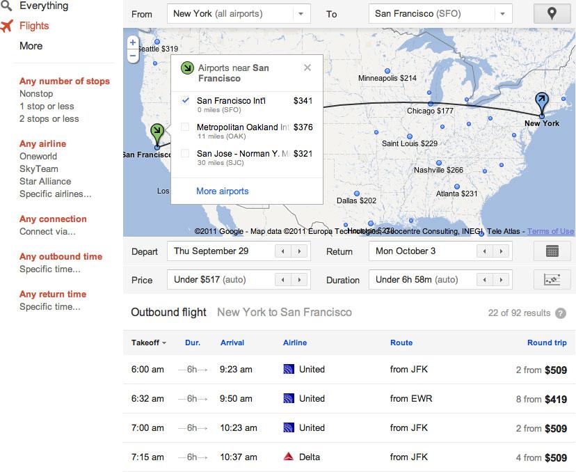 come-usare-google-flights