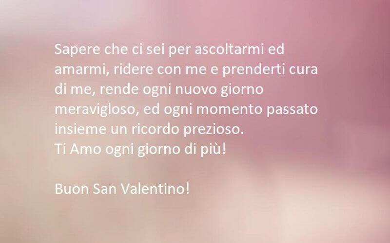 Dedica amore per san valentino