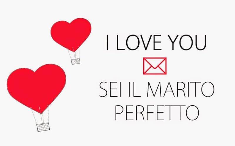 Frase d'amore per il marito perfetto