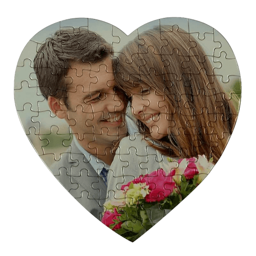 Puzzle cuore foto