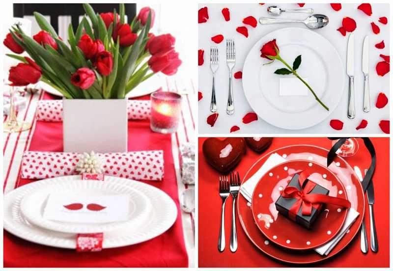 mise en place san valentino