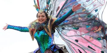Volo Angelo Carnevale Venezia 2020