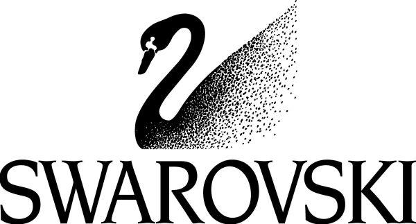 cigno swarovski