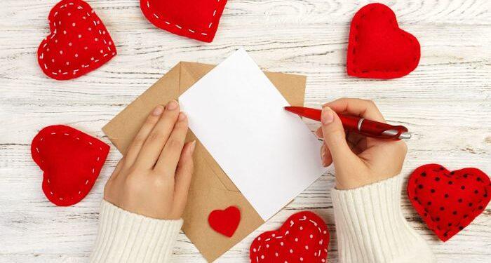 biglietto d'auguri San Valentino