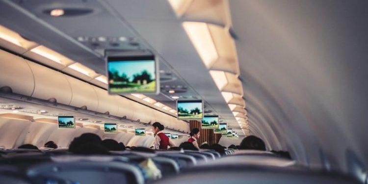 interno aereo air china