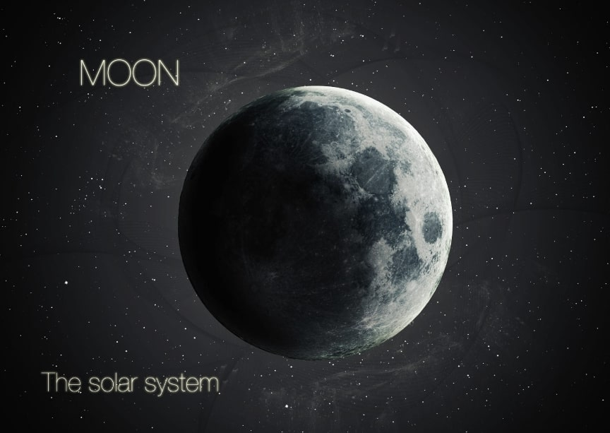 luna pianeta sistema solare