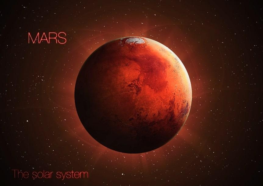 marte pianeta sistema solare