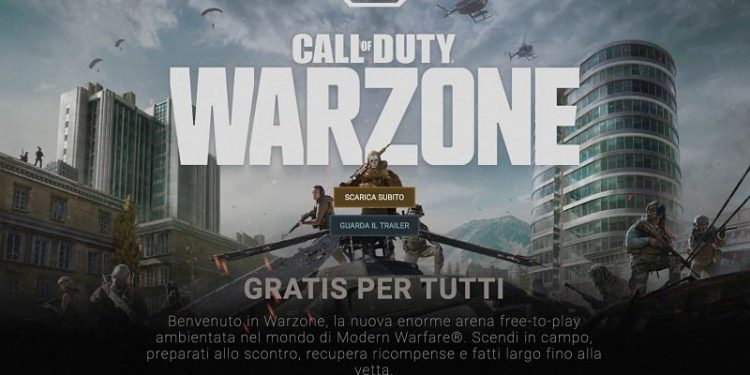 scaricare Call of Duty Warzone gratis
