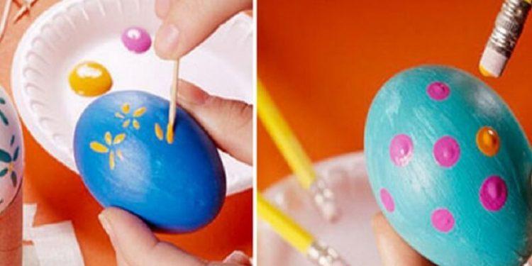 come decorare uova pasqua