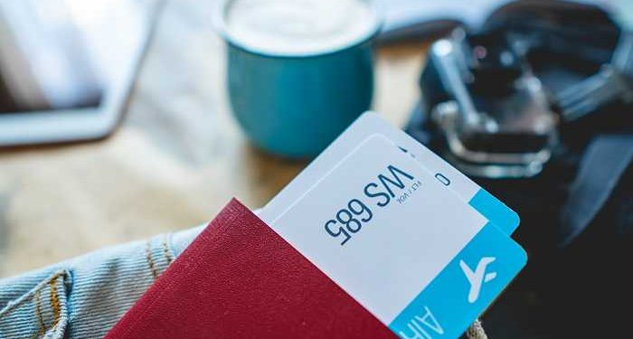 ticketa aerei in portafoglio